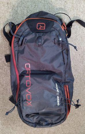 Rucsac airbag avalansa Ortovox Ascent Avabag 22L