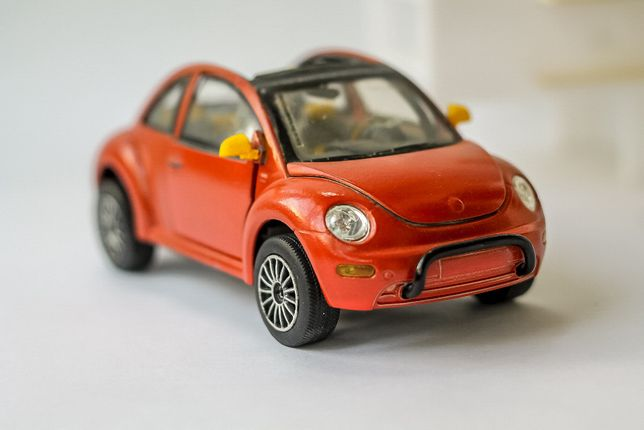 Machetă VW New Beetle - 1/24 - Hongwell