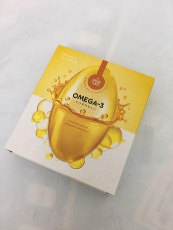 Омега-3 формула. Незаменимые жирные кислоты