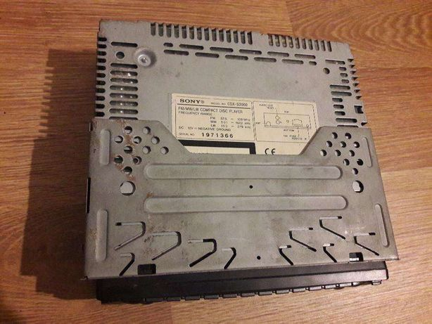 Radio cd player auto sony