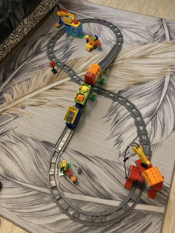 Lego Duplo Грузовой Поезд