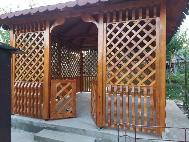 Foișor din lemn/ terase