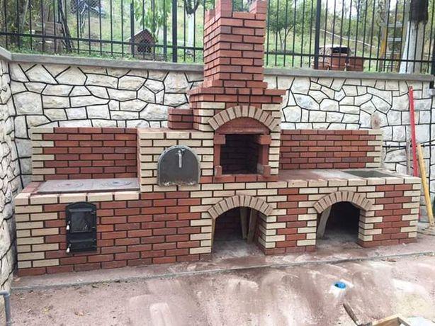 efectuam lucrari cu piatra naturala , pavele, cuptoare de gradina