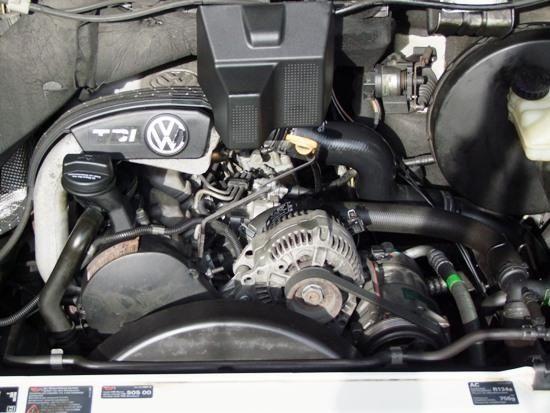 Motor vw lt 2.5