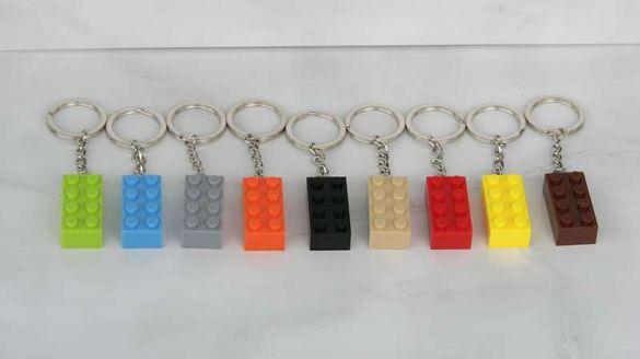 Ключодържатели блокче във форма на блокчета за конструиране тип Лего L