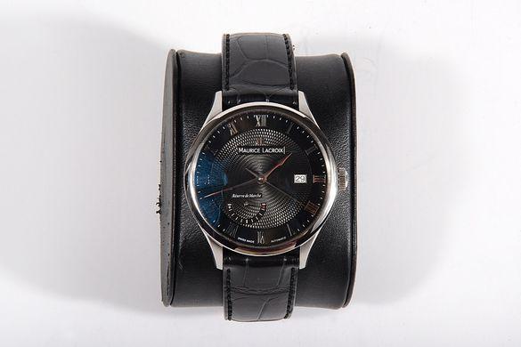 Мъжки часовник Maurice Lacroix Masterpiece Black Dial Automatic