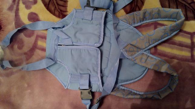 Детская сумка переноска и кенгуру.