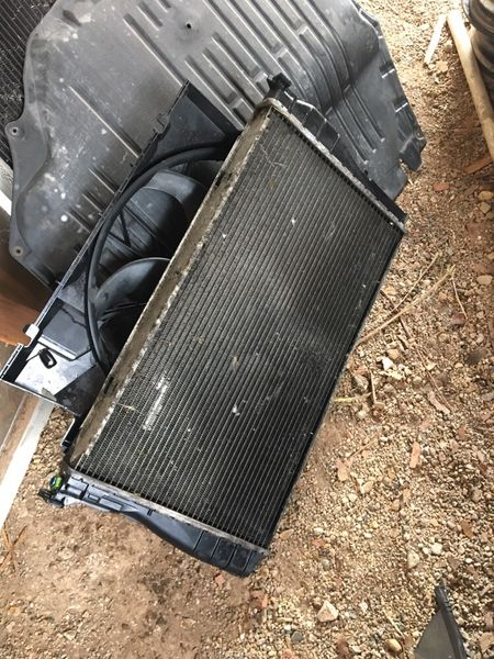 Таралеж , Воден , Климатичен Радиатор Охладителна Перка БМВ Е 90 . с. Калище - image 1
