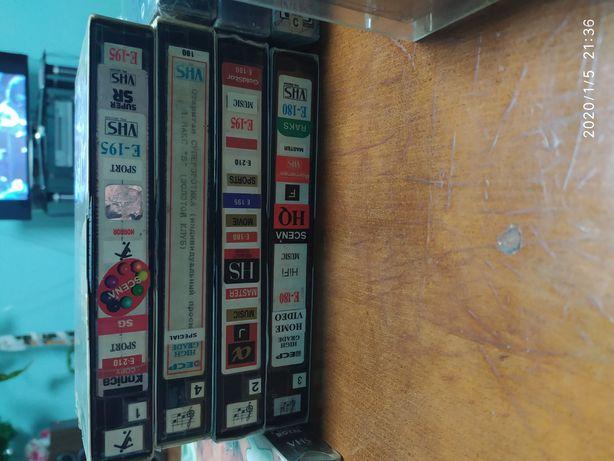 Видео кассеты.