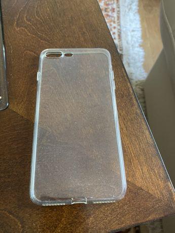 Husa Silicon transparent iPhone 7/8 Plus