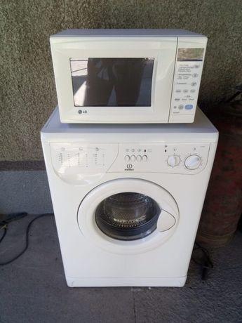 Стиральная машина, Микроволновая печь