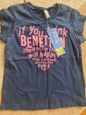 Невероятна блузка на Beneton за малка принцеса