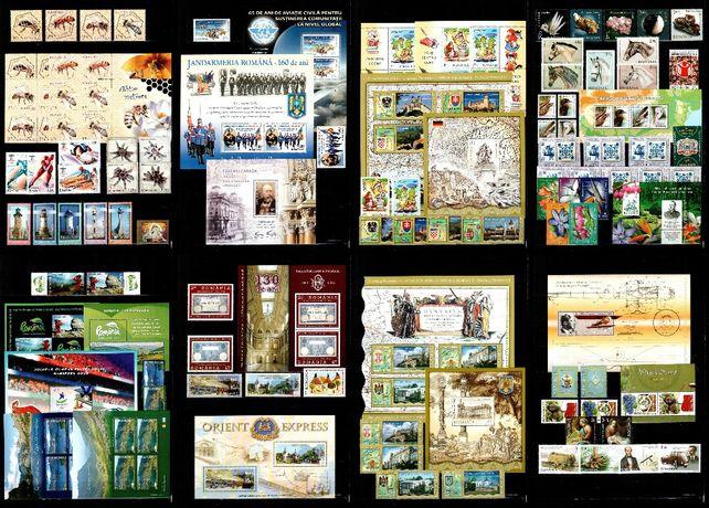 Timbre Romania 2010 - AN COMPLET!!! 82 timbre + 24 blocuri, MNH!