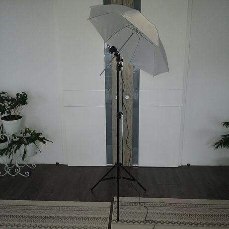 Umbrela foto cu trepied si fasung