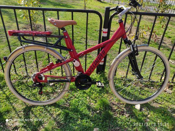 """Алуминиев велосипед 28"""" 21 скорости(3х7)"""