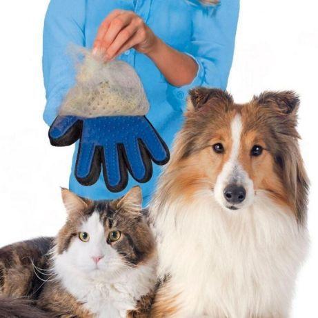 Масажираща ръкавица за косми от куче и котка-домашни любимци
