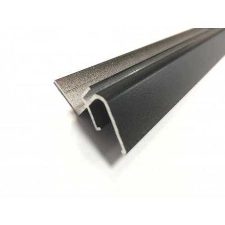 Теневой алюминиевый профиль Eurokraab Еврокрааб 2м, Slott 40, Slott 80