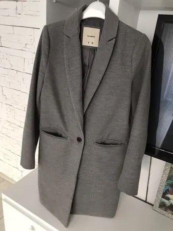 Palton gri Pull&Bear combinatie lana