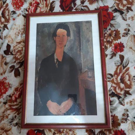 Tablou copie Modigliani