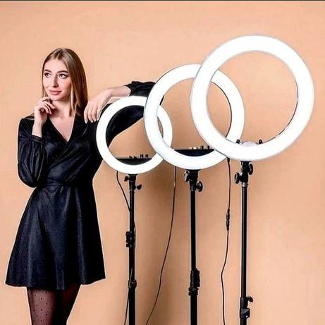 Кольцевая светодиодная лампа 26 см  новый
