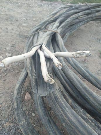 Продам алюминиевый кабель 4-ех фаз 40м