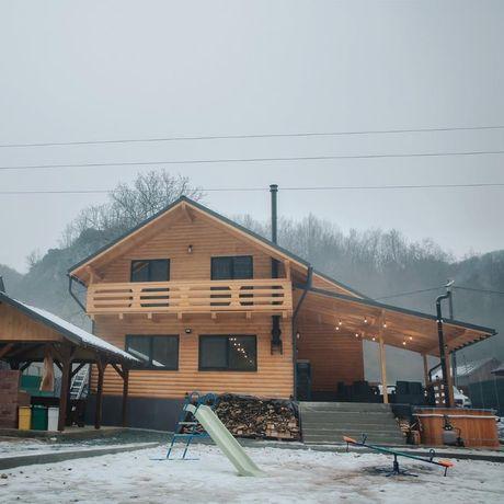 Construim case si cabane din lemn la preferința clientului