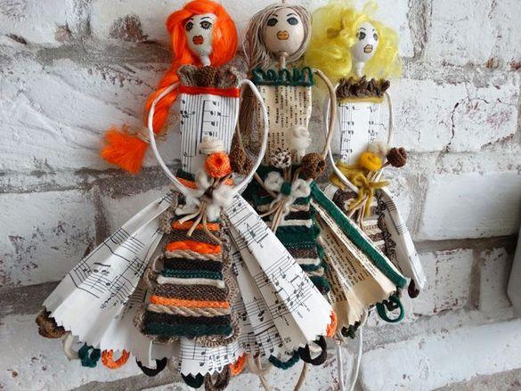 Ангелчета, куклички в народни носии