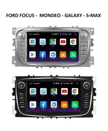 Navigatie Android FORD Mondeo Focus S-Max Galaxy WAZE GPS RADIO