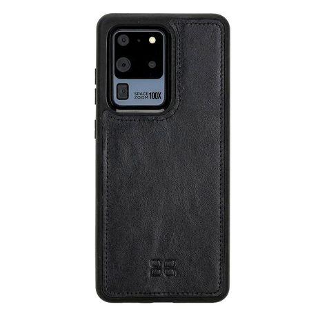 Husa Samsung S20 Ultra, piele naturala, slim, back cover, Bouletta