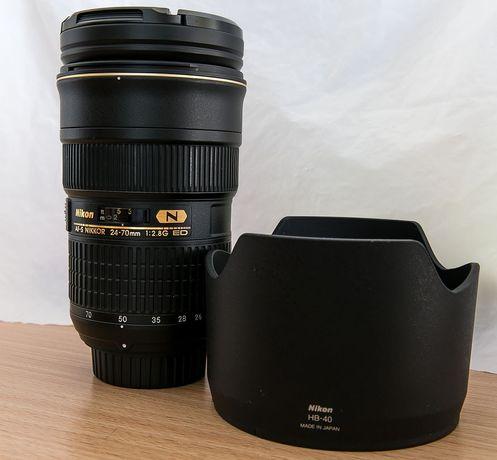 Nikon (Nikkor) 24-70 f2.8