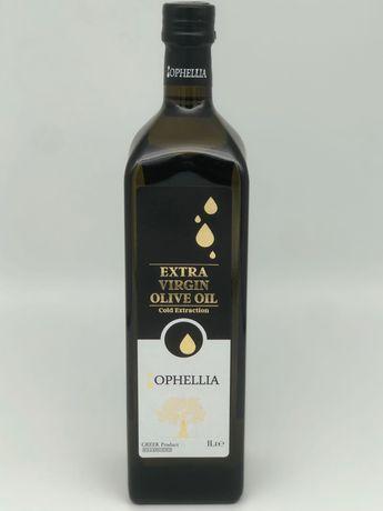 Гръцки зехтин екстра върджинOphellia  1л стъкло киселинност 0,25%