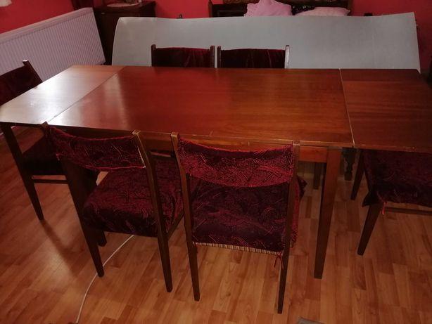 Masă sufragerie și 6 scaune
