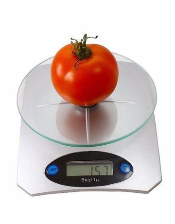 Весы электронные кухонные стекло от 0,1 г. до 5 кг.