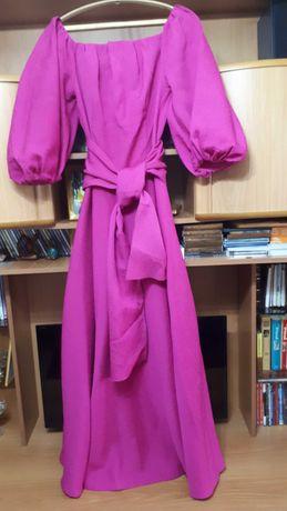 очаровательное вечернее платье в пол, размер 48