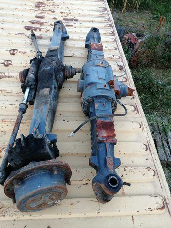 Vand axe buldoexcavator komatsu sau new Holland roti egale
