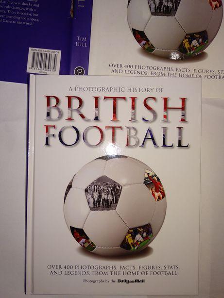 Carte fotbal A photographic history of British Football, noua