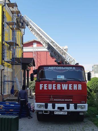 Услуги автовышки Телескоп 30 метров