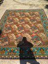Продавам огромен старинен Котленски вьлнен килим двулицев ДВАНАЙСЕТ КВ
