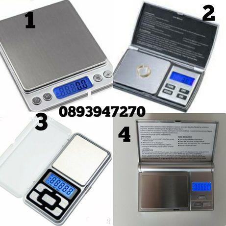 4 Модела Везни Битов,бижутерски,търговски от 0.01 до 2кг.+батерии