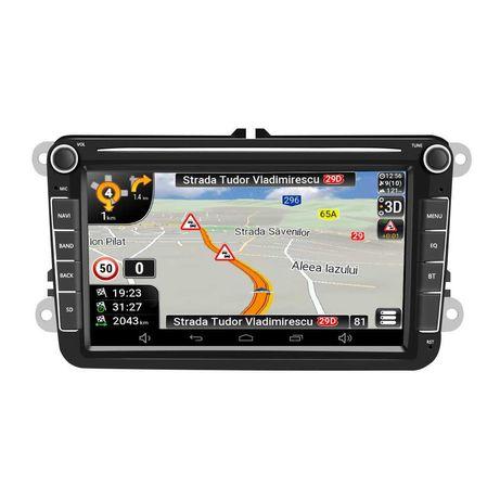 """Navigatie GPS 8"""" Volkswagen VW Golf/Passat/Jetta/Polo Factura+Garantie"""