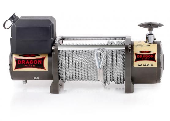 Troliu electric Dragon Winch 14000lbs(trage 6360kg) la 12V + cadou