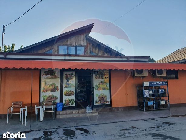 Spatiu comercial de vanzare ( magazin, bar si garaj) in comuna Modelu