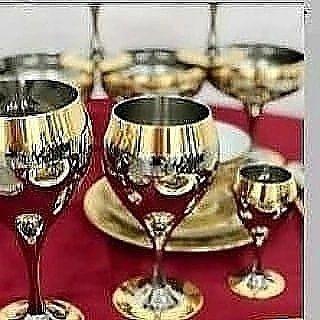 Принц от компаний ЦЕПТЕР.  Бокалы для воды 12 штук. 12 штук для вина,