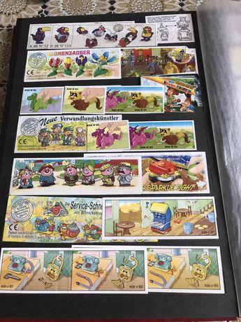 Ретро колекция от KİNDER стикери