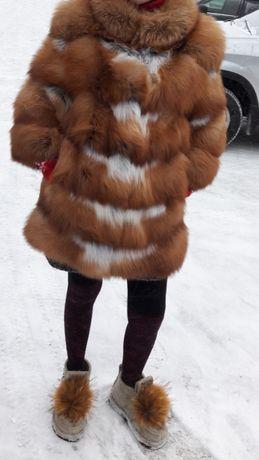 Продам шубу лисы