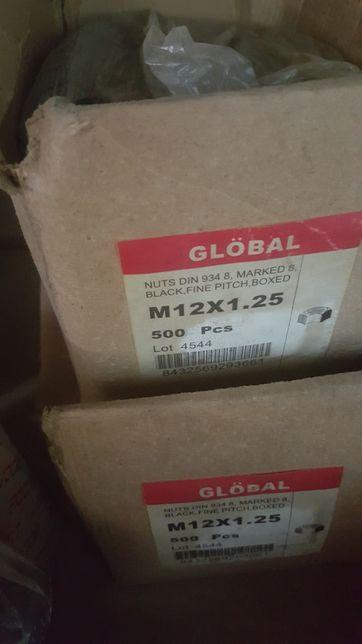 Piulița pas fin M 12x1,25