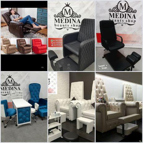 Мебель для салона Педикюрный маникюрный кресло трон