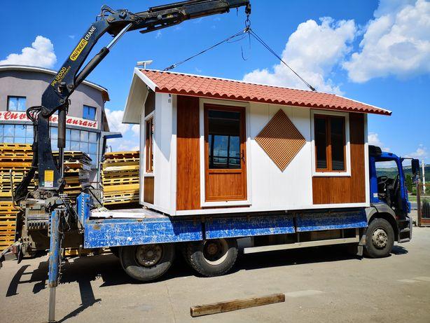 Cabana, container, birou, grup sanitar..