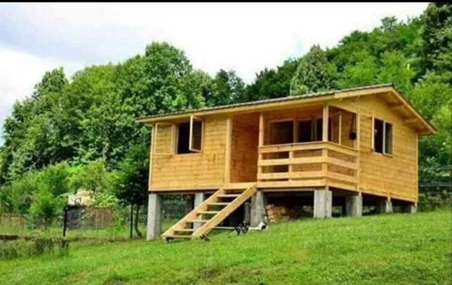 Vand cabane la 40 de euro mp facem ori unde în tara