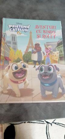 Carte Disney, Prietenii cățeluși Bingo și Rolly